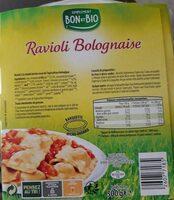 Raviolis bolognaise - Informations nutritionnelles