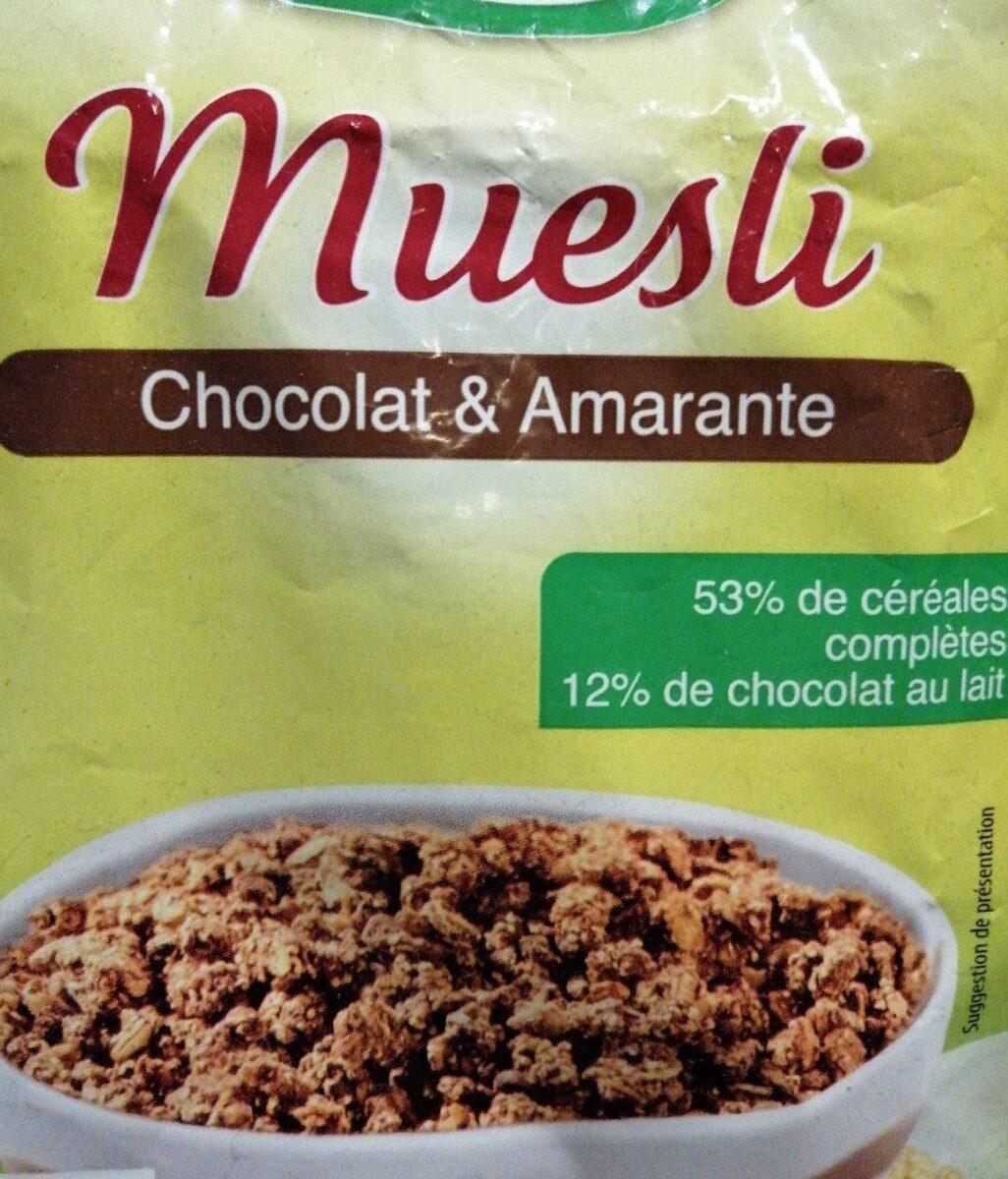 Muesli Fruits rouges - Product - fr