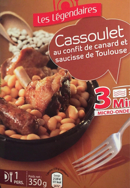 Cassoulet au Confit de Canard  et Saucisse de Toulouse - Produit - fr