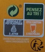 Purée de fruits pomme pêche abricot - Instruction de recyclage et/ou informations d'emballage - fr