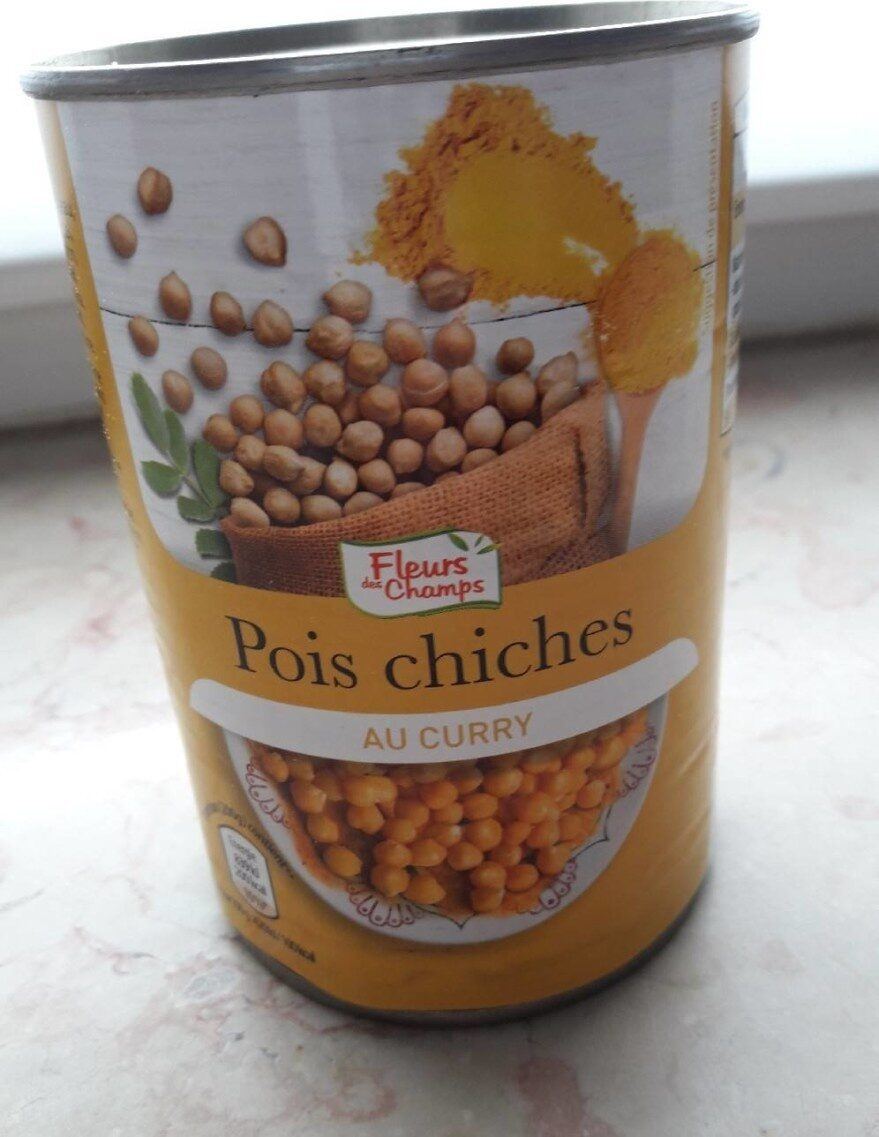 Pois chiches curry - Product - fr