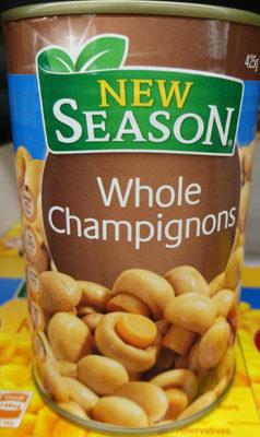 Whole Champignons - Product - en