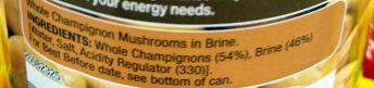 Whole Champignons - Ingredients - en