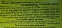 Bâtonets Gourmands - Ingrediënten - fr