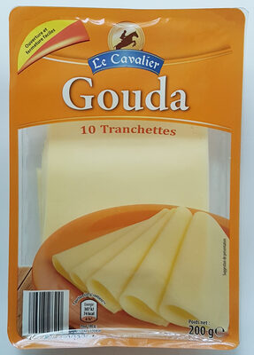 Gouda 10 tranches - Product - fr
