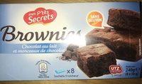 Brownies (sans gluten) - Product - fr