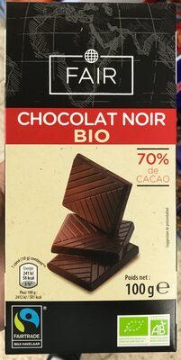 Chocolat noir bio - Product