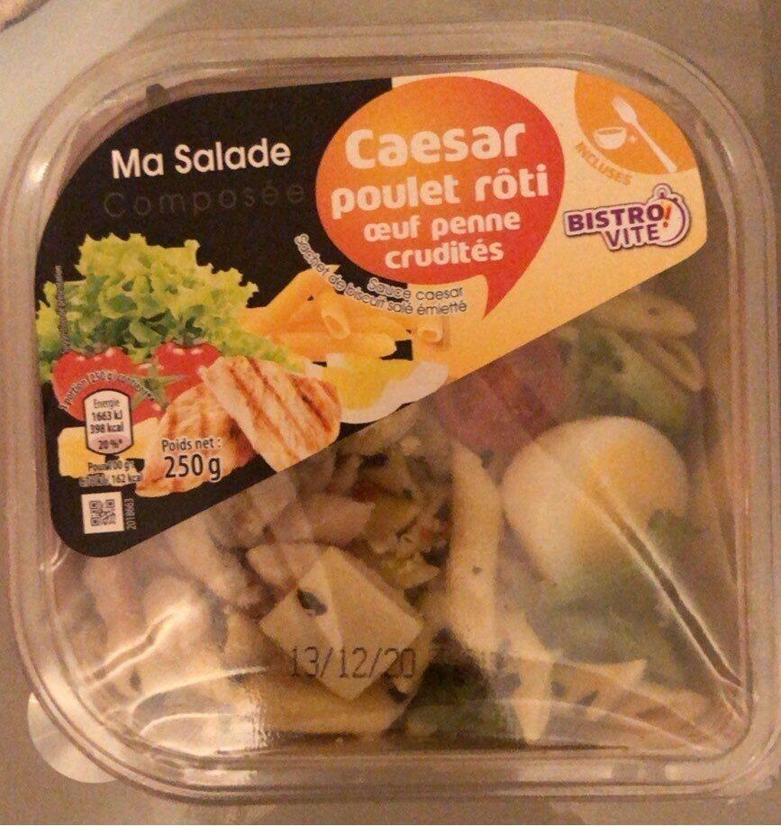 Ma salade composée caesar - Produit - fr
