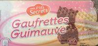 Gaufrettes guimauve - Product - fr