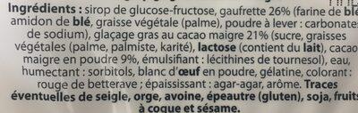 Gaufrettes guimauve - Ingrediënten - fr