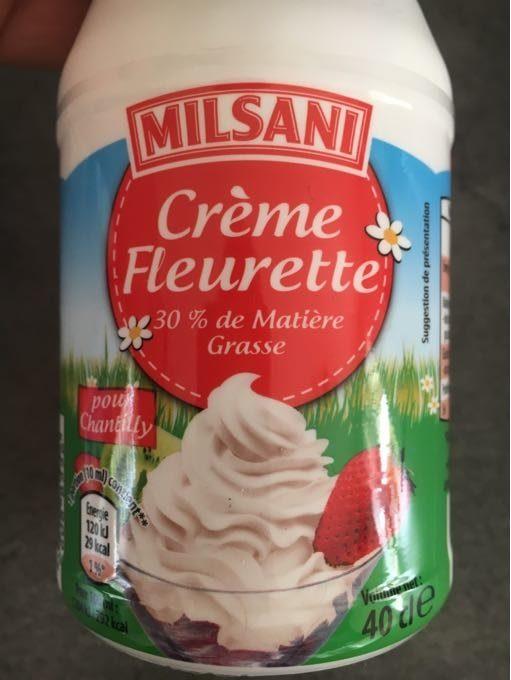 Creme Fleurette Milsani