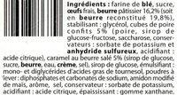 Cake Au citron (Tante Odile) - Ingrédients