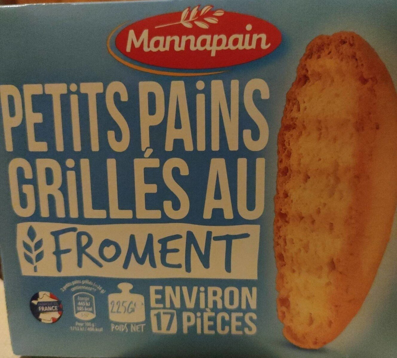 Petit Pains grillés - Producto - fr