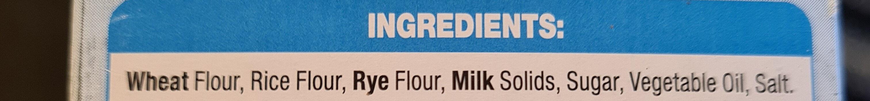 Crispettes - Ingrédients - en