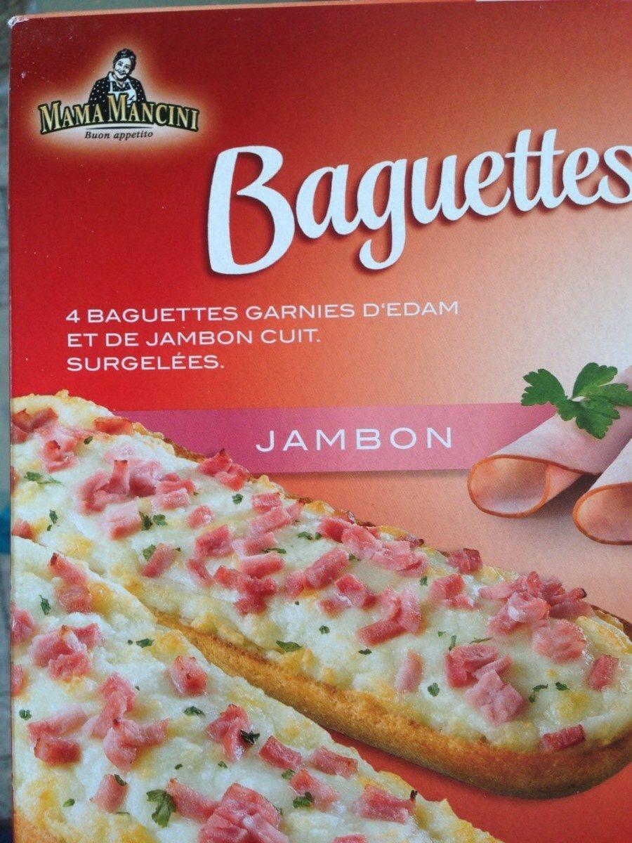 Baguettes jambon - Product - fr