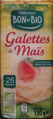 Galettes de mais - Product - fr