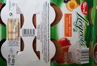 Liégeois de fruit - Ingrediënten - fr
