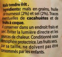 Maïs frit salé - Ingredients
