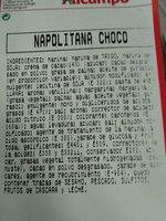 napolitana choco - Ingredients