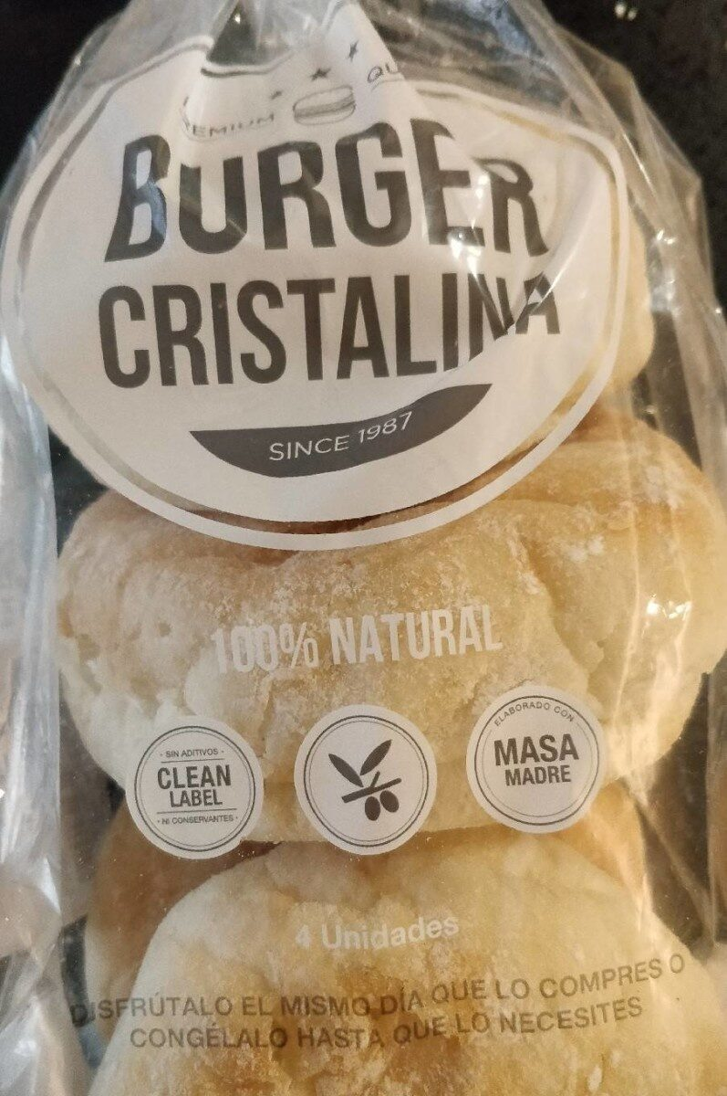 Burger Cristalina - Producto
