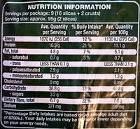 Soy & Linseed Bakehouse Bread - Nutrition facts - en