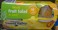 Diced Fruit Salad in Juice 4 Pack - Product