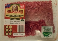 Grass Fed Extra Lean Beef Mince - Product