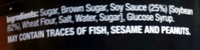 Sweet Soy Sauce Kecap Manis - Ingredients - en