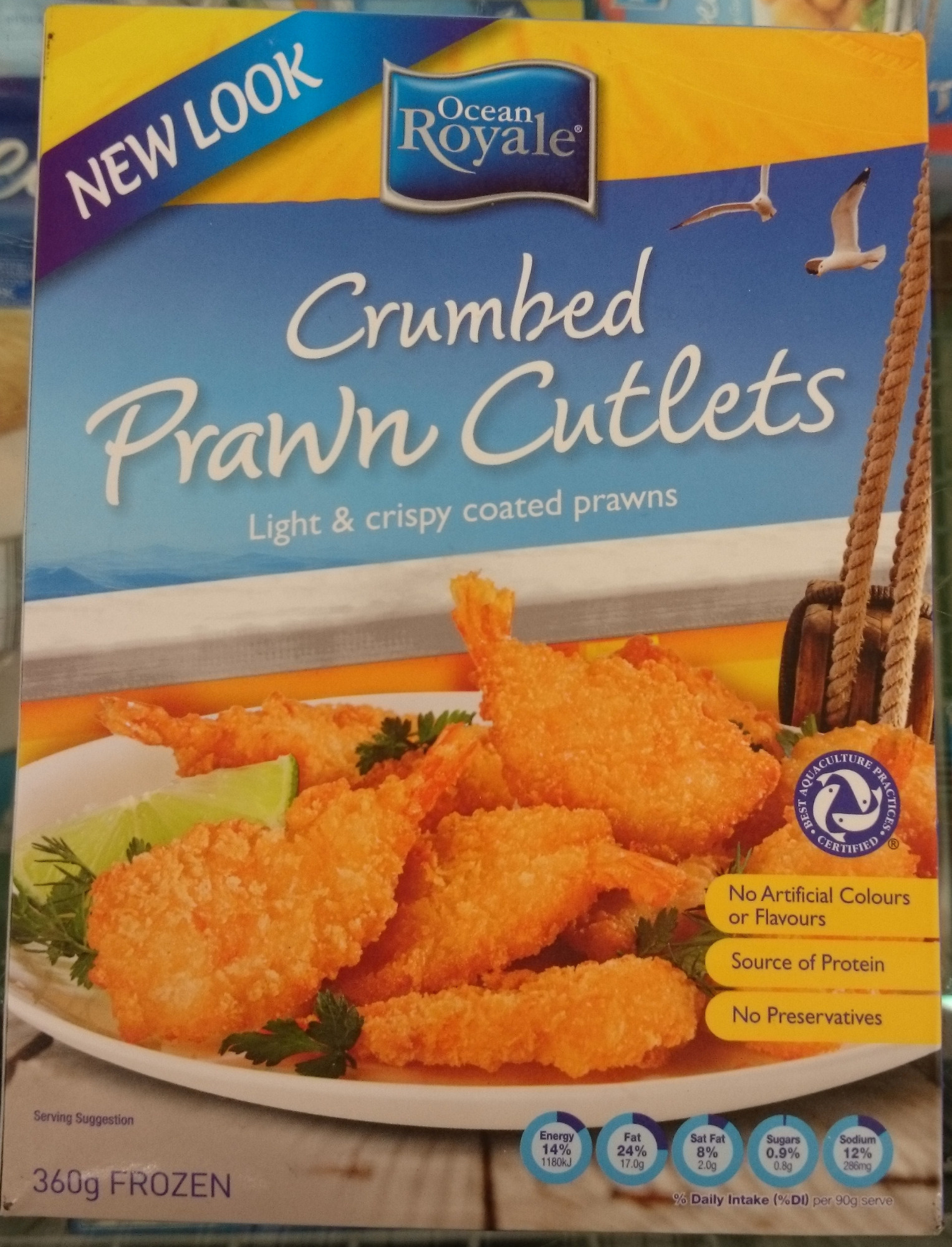 Crumbed Prawn Cutlets - Product - en