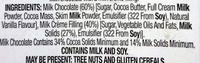 Milk Chocolate Assorted Figures - Ingrédients