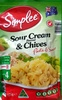 Sour Cream & Chives Pasta & Sauce - Produit