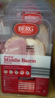 Smoked Middle Bacon Rind On - Product