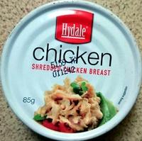 Shredded Chicken Breast - Produit