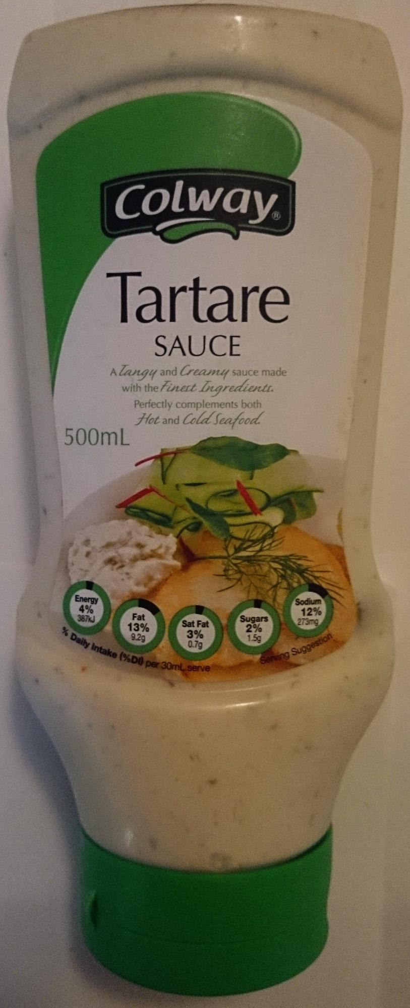 Colway Tartare Sauce - Product - en