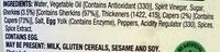 Colway Tartare Sauce - Ingredients - en