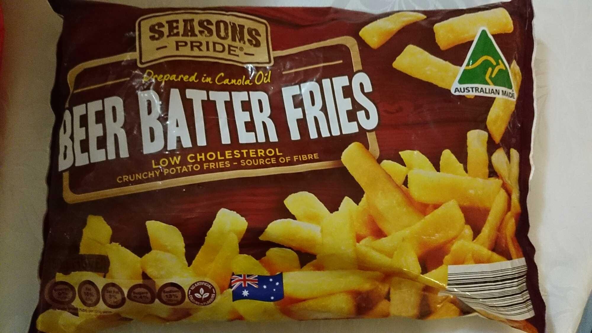 Beer Batter Fries - Produit