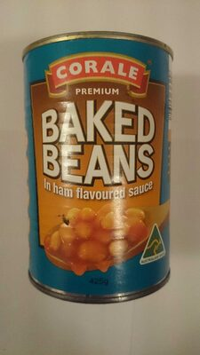 Baked beans in ham flavoured sauce - Product - en