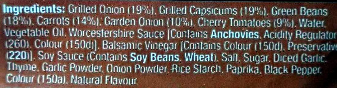 Grilled Vegetables - Ingredients - en