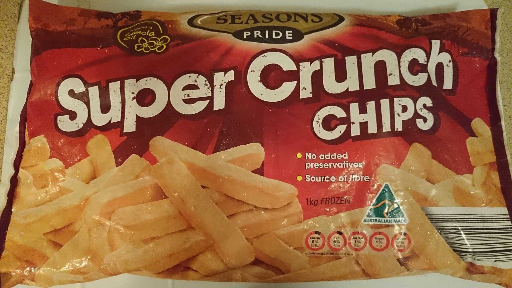 Super Crunch Chips - Product