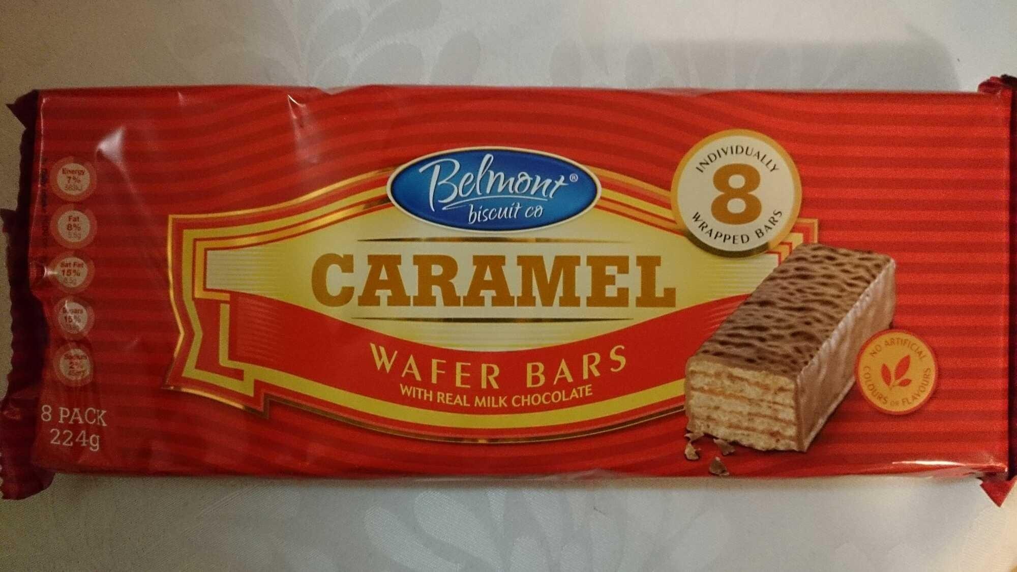 Caramel Wafer Bars Caramel Wafer Bars Product