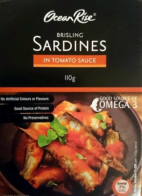 Brisling Sardines in Tomato Sauce - Product