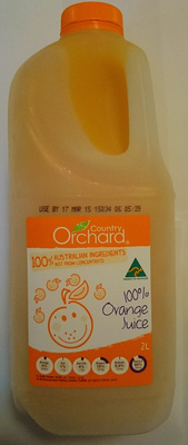 Country Orchard 100% Orange Juice - Product