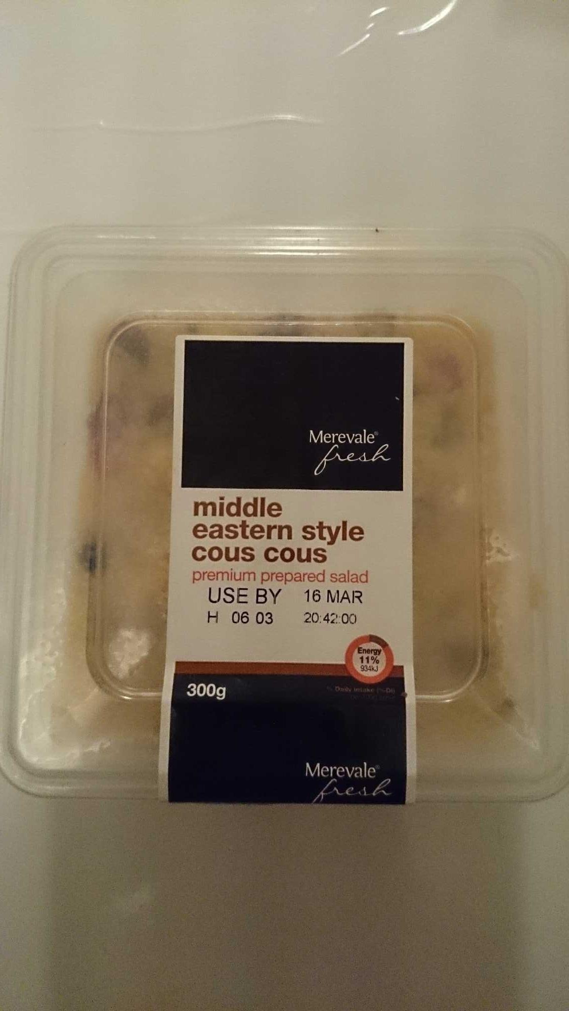 Middle Eastern Style Cous Cous Premium Prepared Salad - Product - en