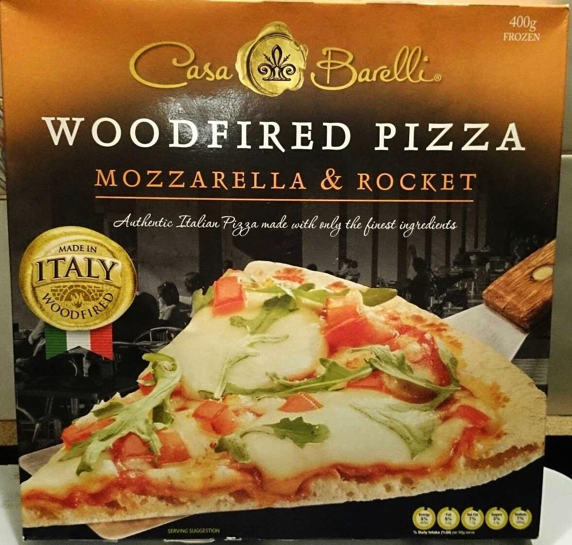 Woodfired Pizza Mozarella & Rocket - Product - en