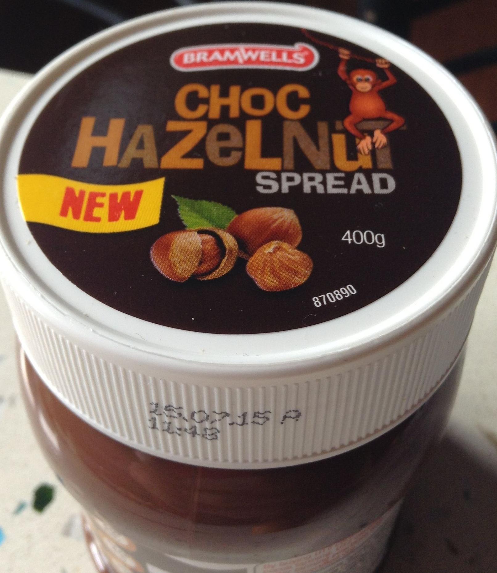 Choc Hazelnut Product spread - Product - en