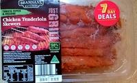 Chicken Tenderloin Skewers - Tomato, Pepper & Oregano - Product