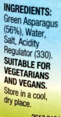 Asparagus Spears - Ingredients - en