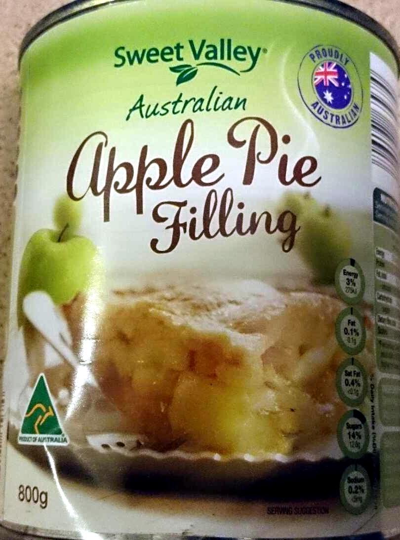 Australian Apple Pie Filling - Product - en