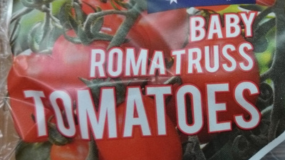 Baby Roma Truss Tomatoes - Ingredients