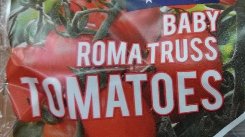 Baby Roma Truss Tomatoes - Ingrédients - en